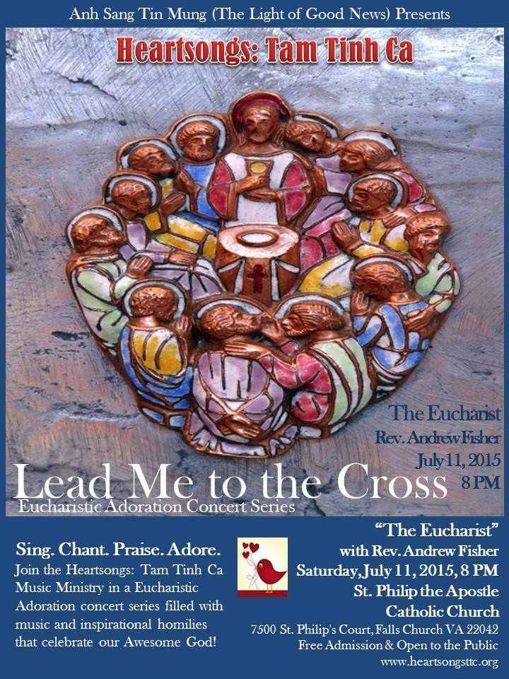 Lead Me to the Cross Draft flyer _ the Eucharist